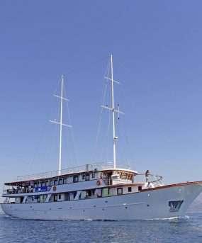 Ontdek een mediterraan paradijs per comfortabel schip