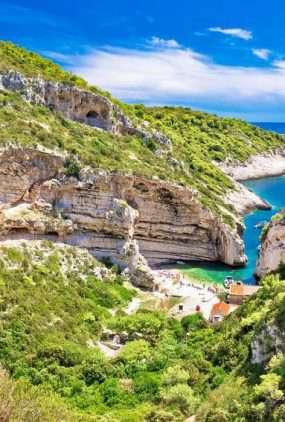 De stranden van Kroatië