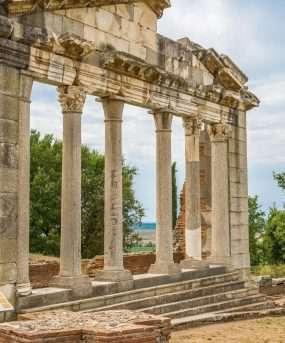 De oude stad Apollonia.