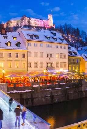 Hoofdstad Ljubljana - Slovenië