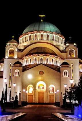 Belgrado - de hoofdstad van Servië
