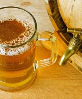 De Tsjechische nationale drank is bier
