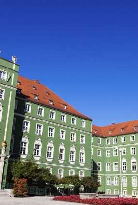 Stadhuis Szczeczecin Polen