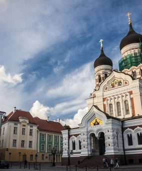 Nevsky Cathedral in Tallin,