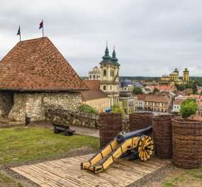 Het historische centrum van Eger