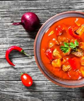 Traditioneel Hongaarse maaltijd