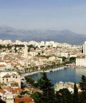 De historische stad Split - Kroatië